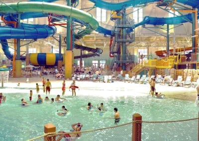 Splashing Around at the Great Wolf Lodge