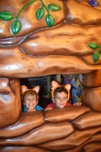 Wolf Den at the Great Wolf Lodge Spooktacular