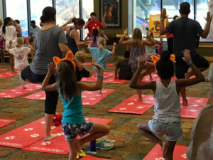 Free yoga at Great Wolf Lodge Spooktacular