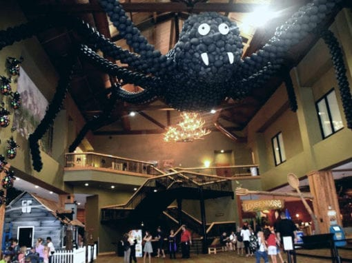 A Spooktacular Holiday at the Great Wolf Lodge