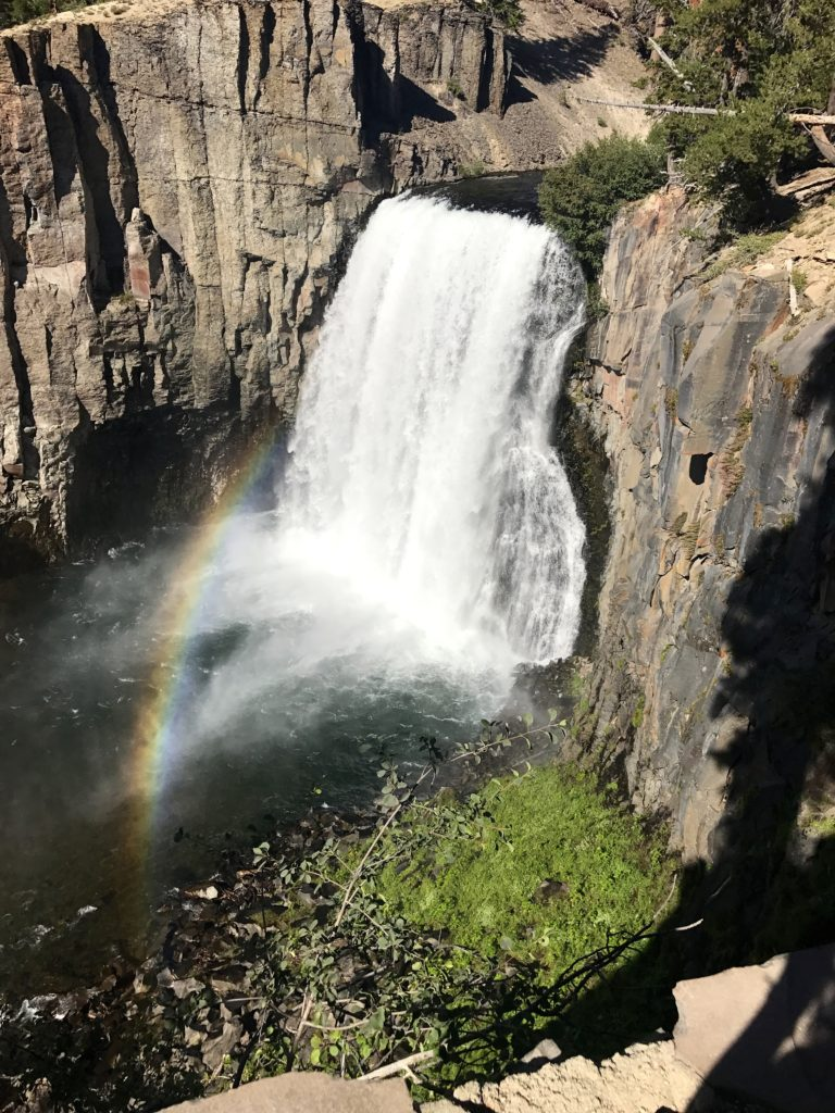 Rainbow Falls Mammoth Mountain