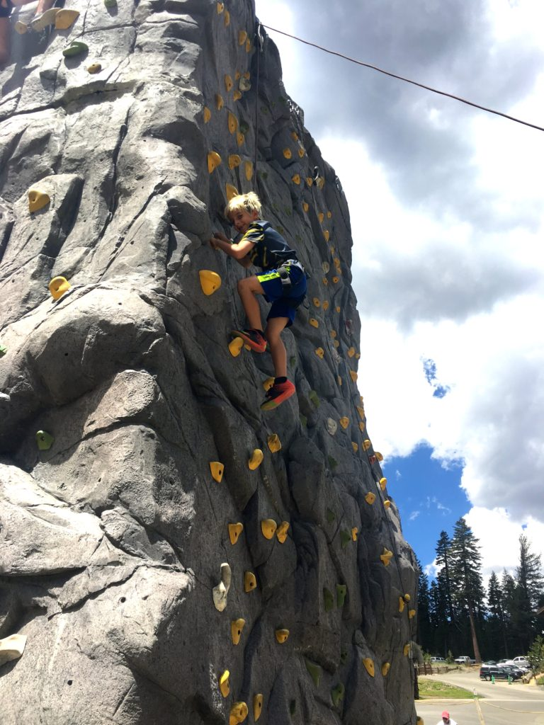 rock wall mammoth mountain