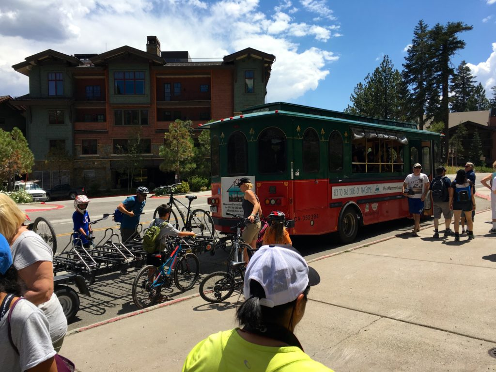Mammoth Mountain Trolly