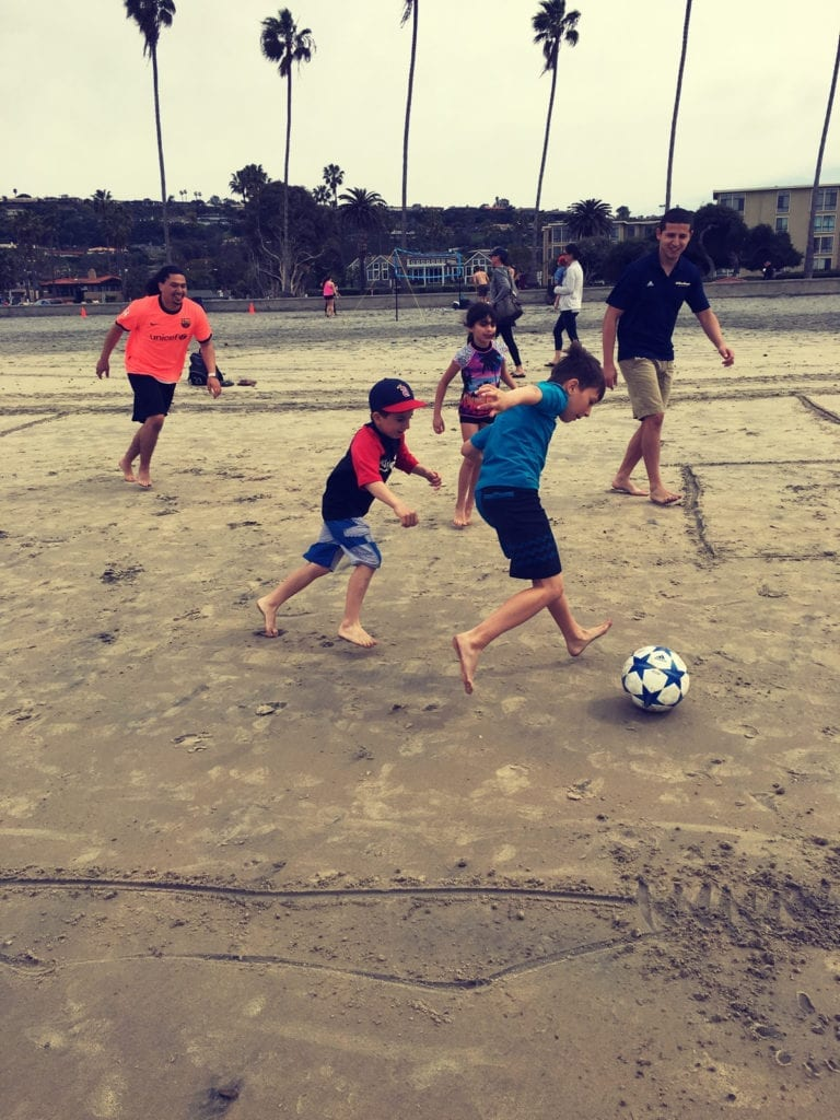 la jolla shores beach soccer