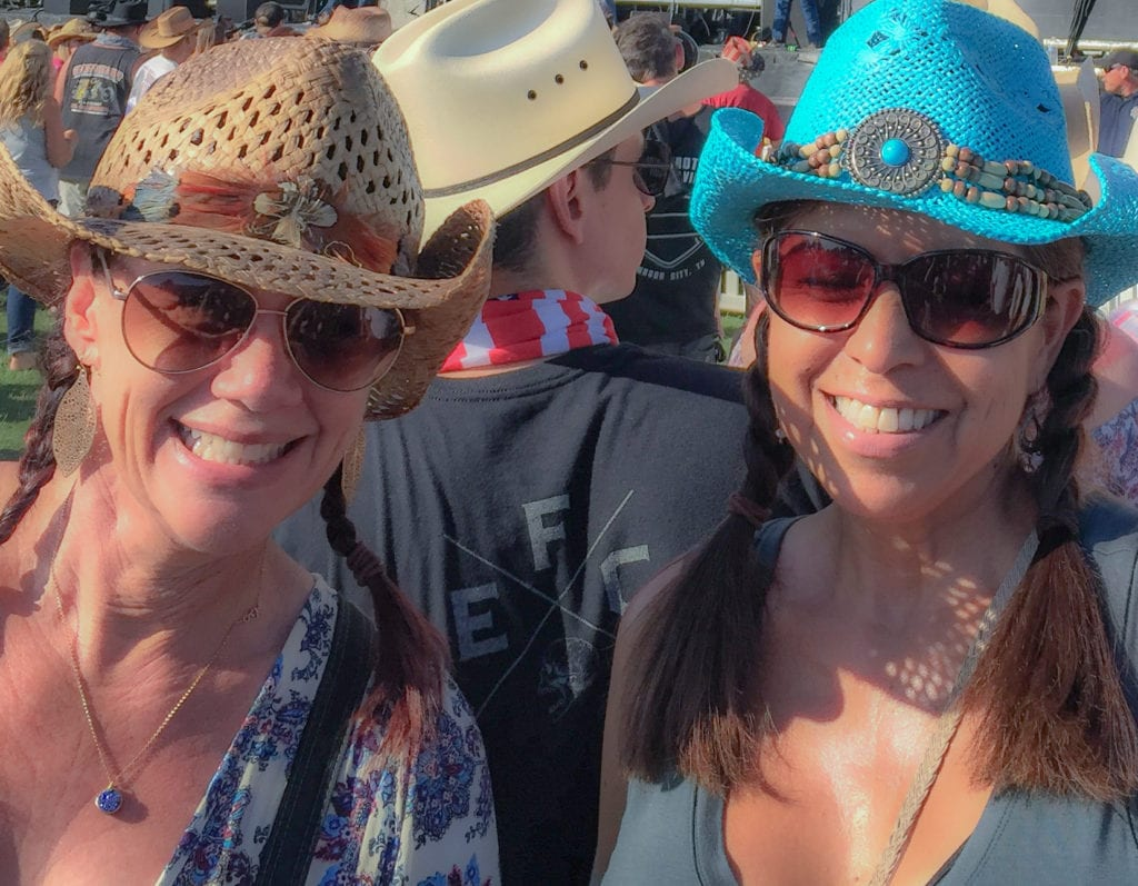 Sundresses, tank tops and cowboy hats photo by Charlene Ross