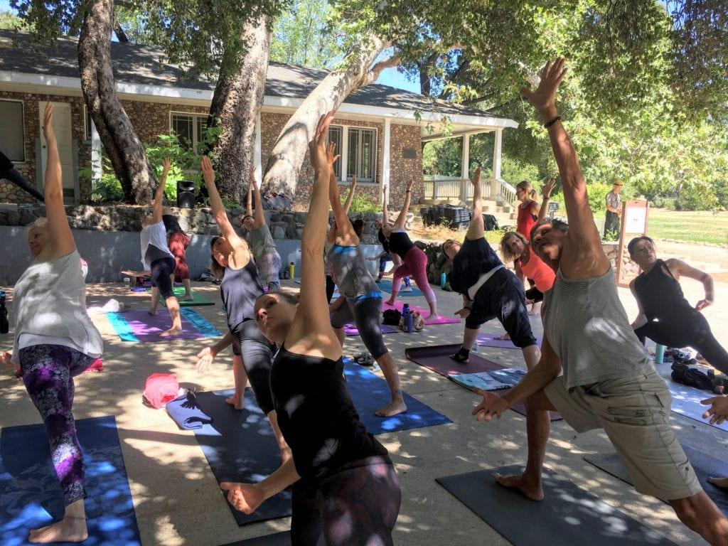 yoga in santa monica mountains