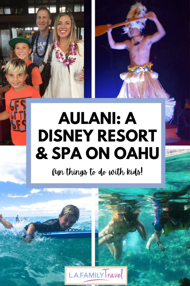 THE AULANI, A Disney Resort and Spa offers a starting point for families to explore the Hawaiian island of Oahu and find tons of ways to explore the history of the Hawaiian people. Fun things to do with kids and teens on Oahu. Also an incredible cultural experience at Four Seasons Oahu