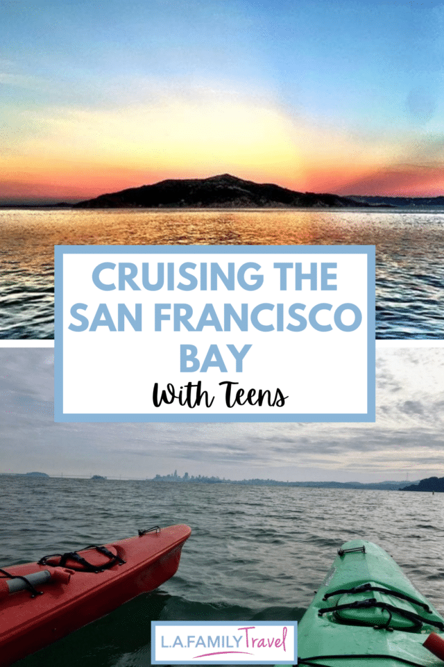 A kayak tour with kids is the perfect way to see San Francisco and learn about all the history from a different perspective. Things to do with teens in San francisco!