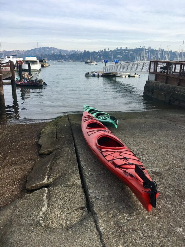 San Francisco Bay with Teens on a Kayak Tour - the bay