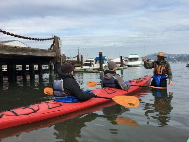 kayak lessons - Things to do with teens in San Francisco!