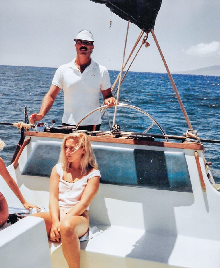 catamaran in hawaii