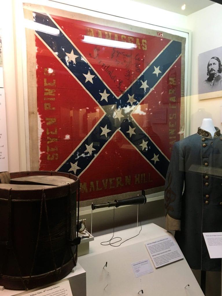 The Battle Flag of the 11th Mississippi Infantry  – Photo by Samantha Davis-Friedman © 6/17