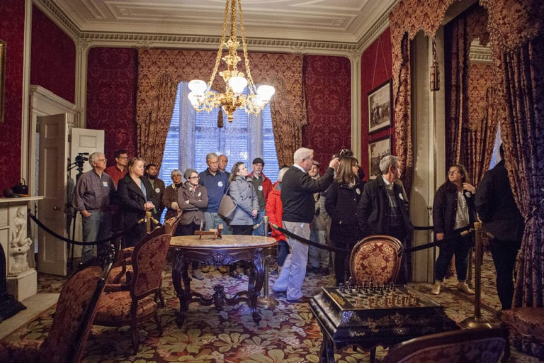 The White House of the Confederacy still contains 80% of the original furnishings - Courtesy of the American Civil War Museum.jpg