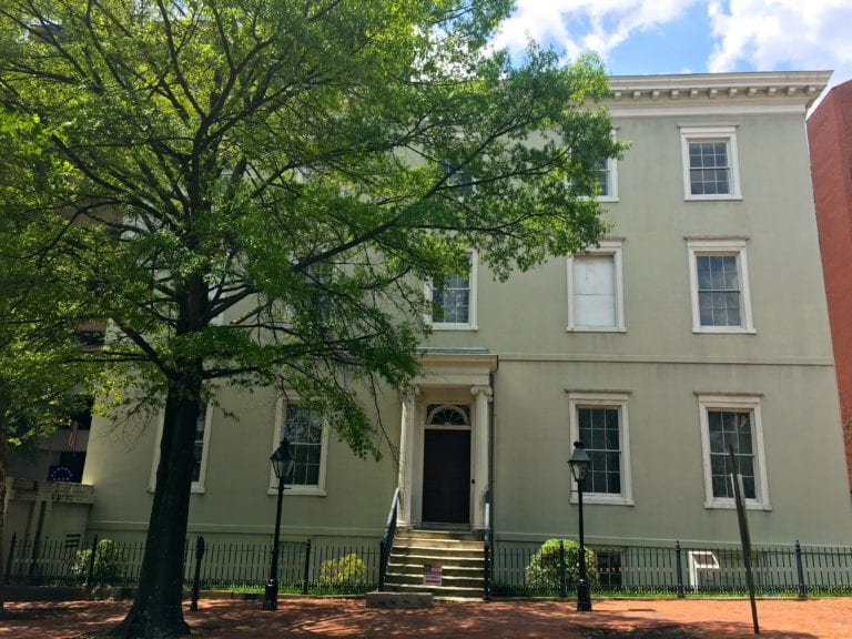 The unassuming White House of the Confederacy holds an important place in American History - Photo credit Samantha Davis-Friedman.JPG