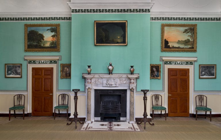 Washington intended the New Room to emphasize qualities that communicated the new nation's values – Photo courtesy of Washington's Mount Vernon
