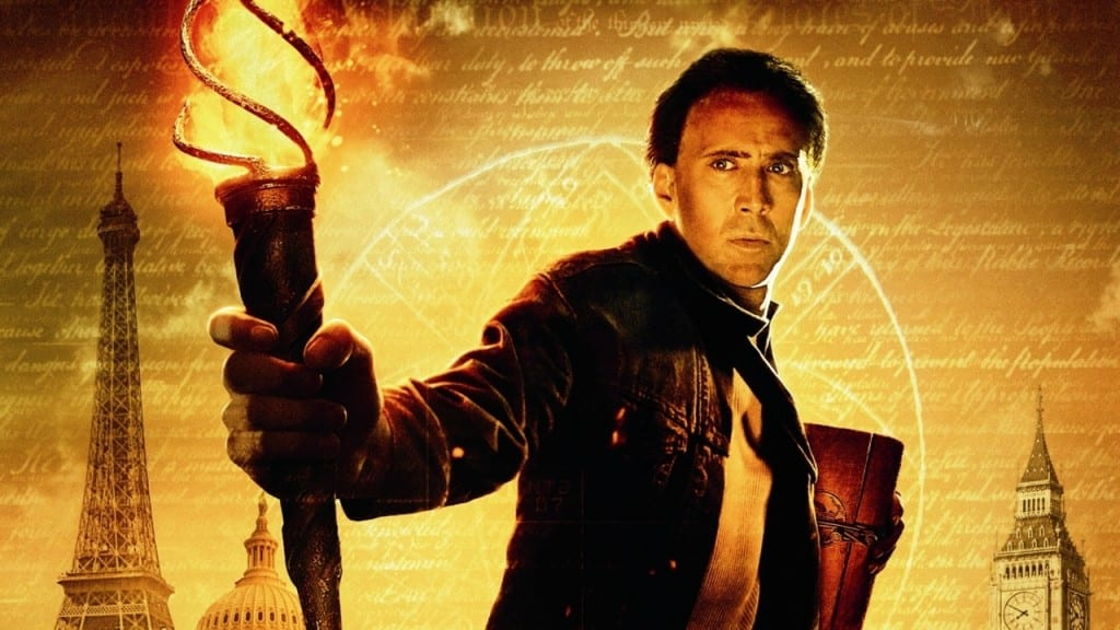 National Treasure starring Nicolas Cage Photo courtesy of Touchstone Pictures