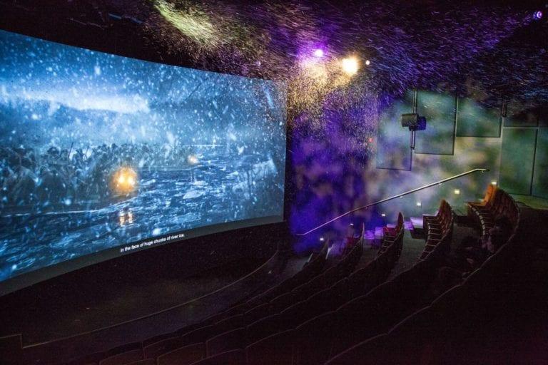 Revolutionary War Theater in 4-D Photo courtesy of Washington's Mount Vernon