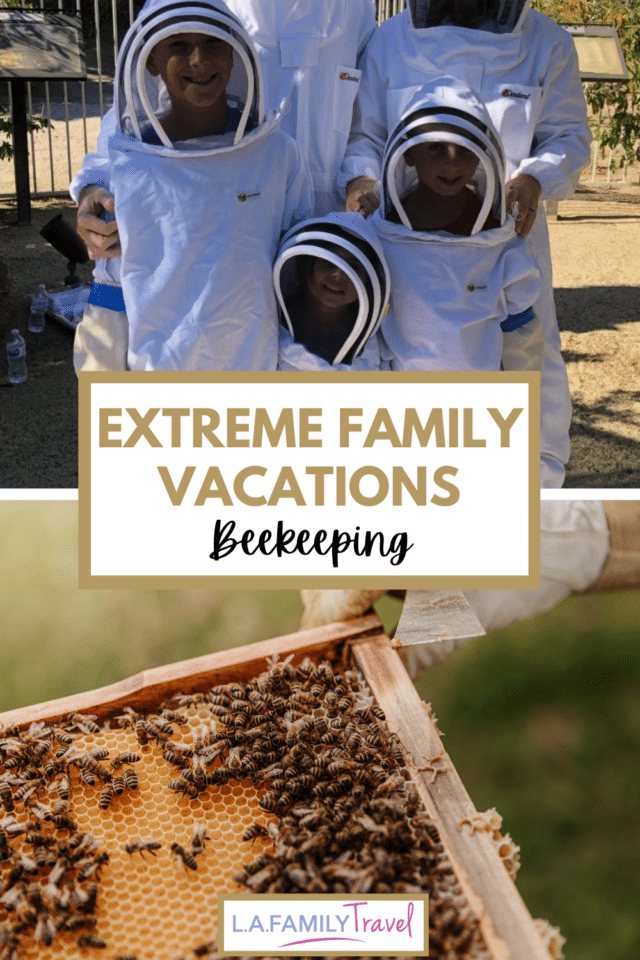 The Westin Mission Hills near Palm Springs offers families and kids the unique experience of a beekeeping tour. Read about what to expect and see the video of our beekeeping tour.