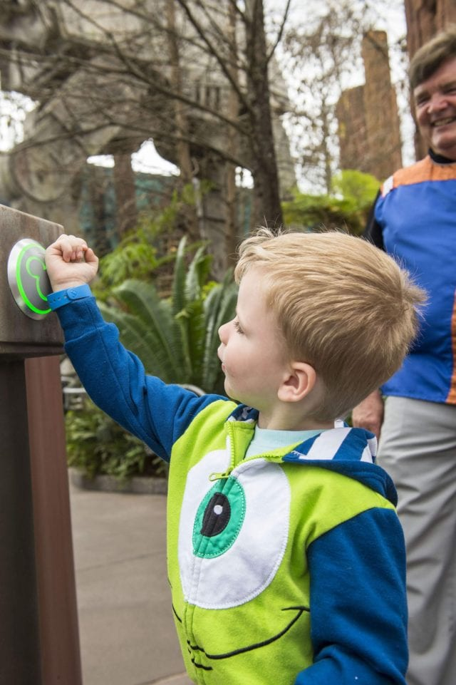Walt Disney World Resort guests can use MagicBands for FastPass+ access to attractions - Photo Credit Matt Stroshane/Walt Disney World Resort