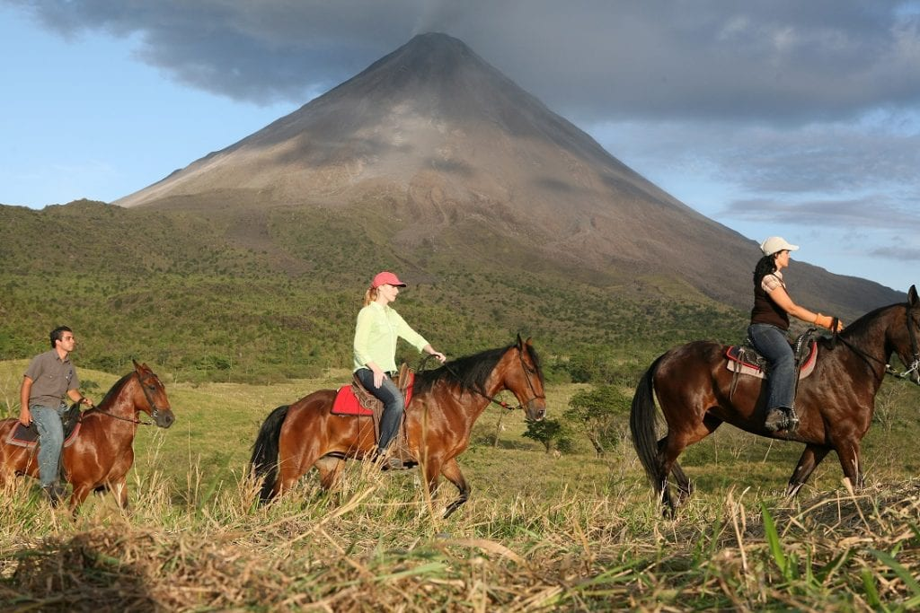Horseback riding Arenal-Costa Rica © Global Family Travels