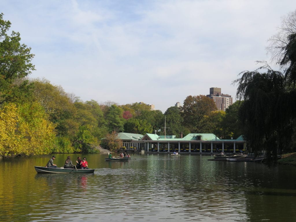 The Boathouse is one of the best-known sights in Central Park - Photo Credit Samantha Davis-Friedman