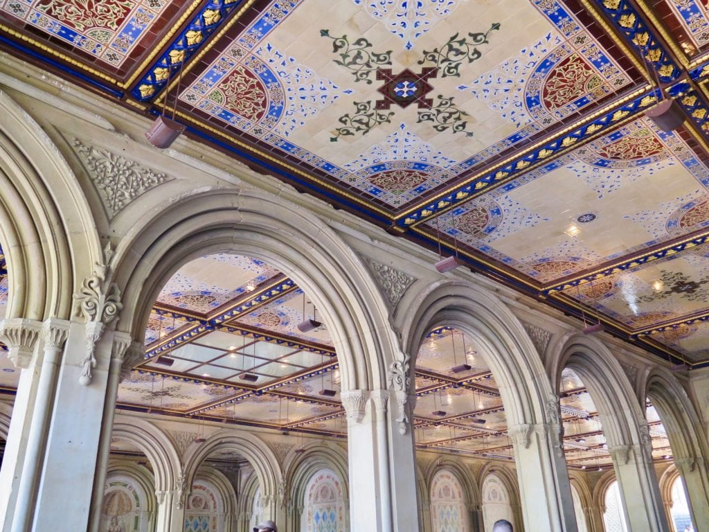 Bethesda Arcade contains 16,000 hand-made 150-year-old English ceramic tiles - © Samantha Davis-Friedman