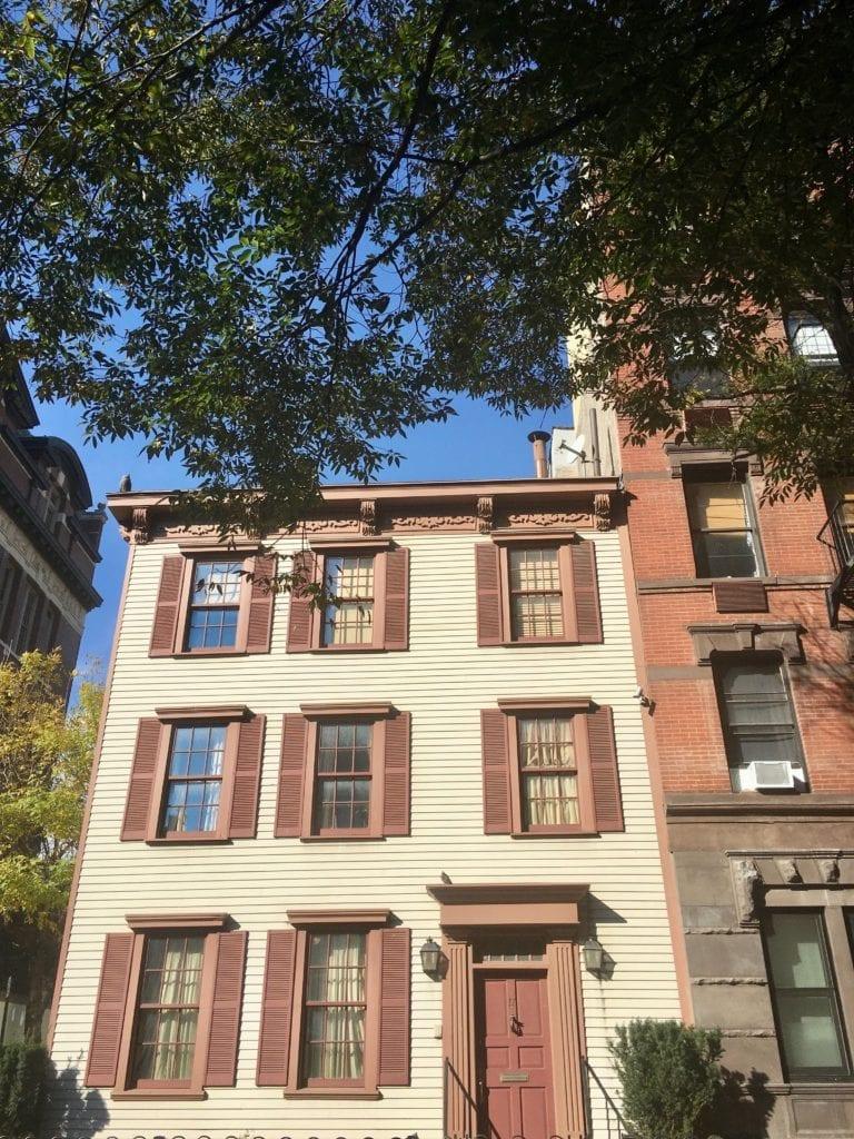 The oldest building in Greenwich Village was built in 1799 - Photo Credit Samantha Davis-Friedman