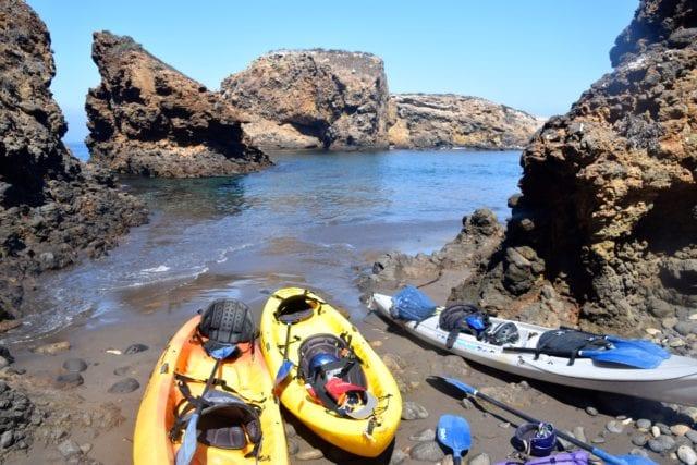 Santa Barbara Adventure Company - cave kayaking channel islands