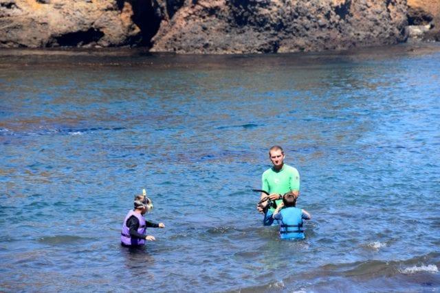 Santa Barbara Adventure Company snorkels - cave kayaking channel islands