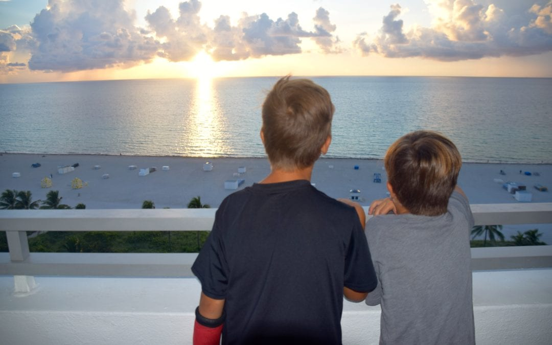 Florida: The Loews Miami Beach Hotel and South Beach with Kids (VIDEO)
