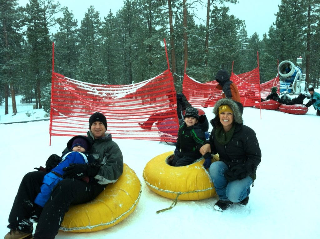 big bear lake snow tubing