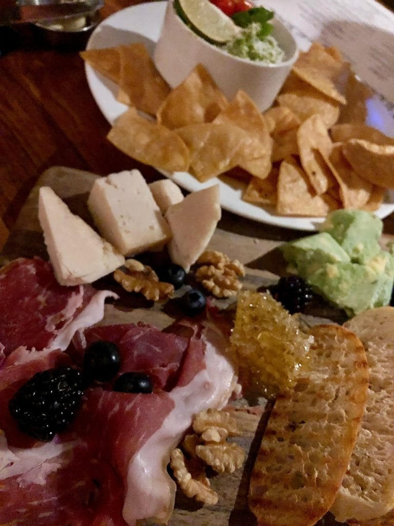 charcuterie at BIN 189 Lake Arrowhead Resort and Spa