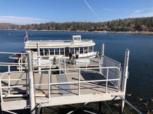Lake Arrowhead Queen boat tour - winter in lake arrowhead