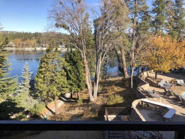 winter in lake arrowhead at the Lake Arrowhead Resort and Spa