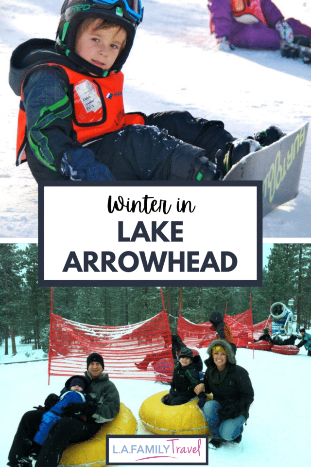 WHAT to do in Lake Arrowhead during the Winter with Kids. Does Lake Arrowhead have winter fun or snow in winter? Here is all you need to know for winter fun in Lake Arrowhead for your family trip.