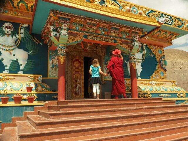 Monastery-of-Big-Buddha-in-Stok-Ladakh - volunteer family travel to India