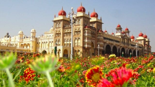 Mysore Palace - volunteer family tourism in India