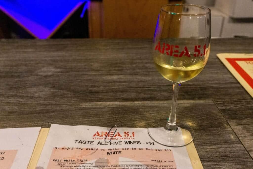 Area 5.1 Santa Barbara Wine Tasting
