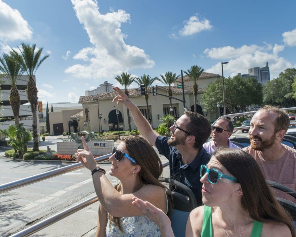 Hop-on, Hop-off bus in Orlando - Photo Courtesy of isango!