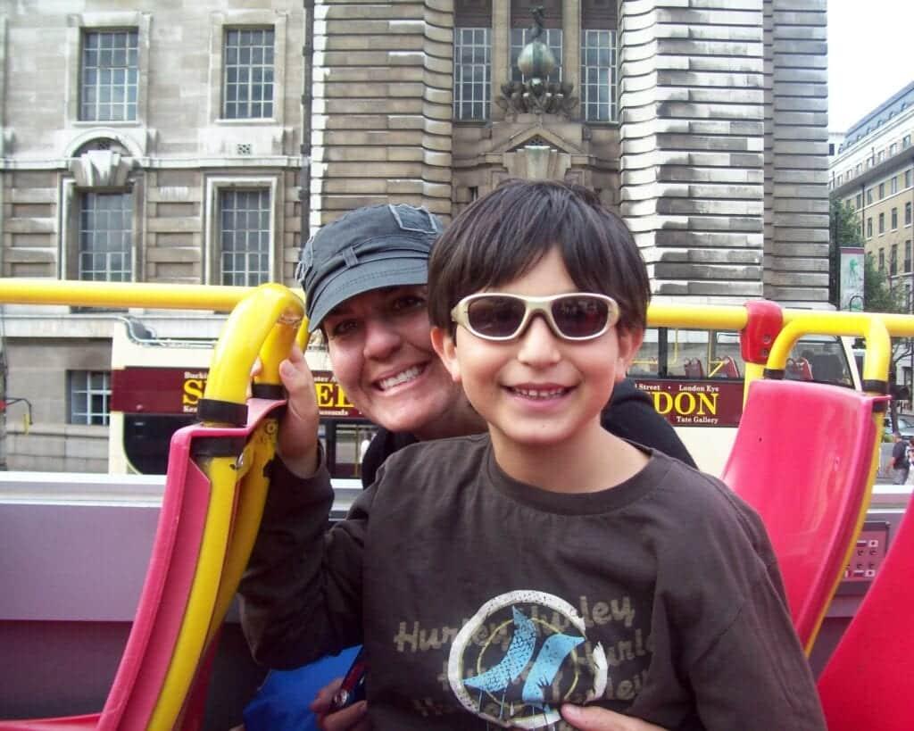 Hop-on, Hop-off bus in London - © Joshua Friedman