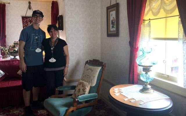 Inside Walt's apartment - Disneyland family vacation packages Adventures by Disney