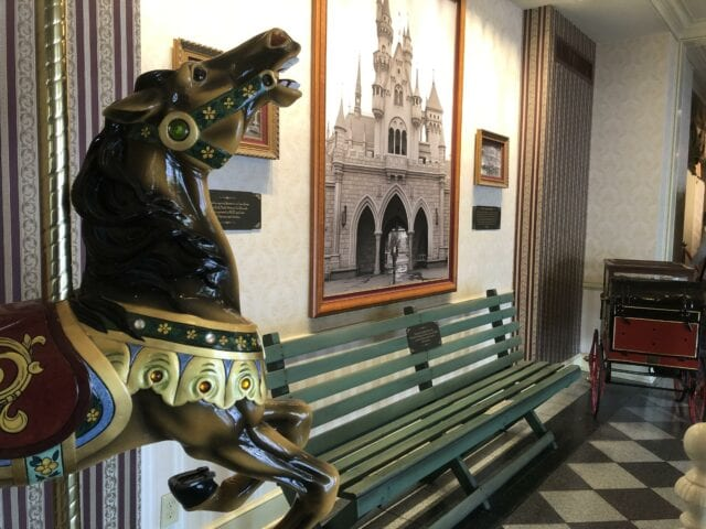 One of the three original Griffith Park benches - disneyland family vacation package Adventures by Disney