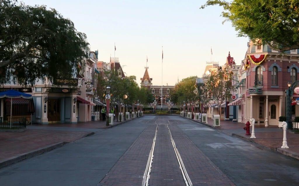 Good Morning, Disneyland! Photo by - Samantha Davis-Friedman