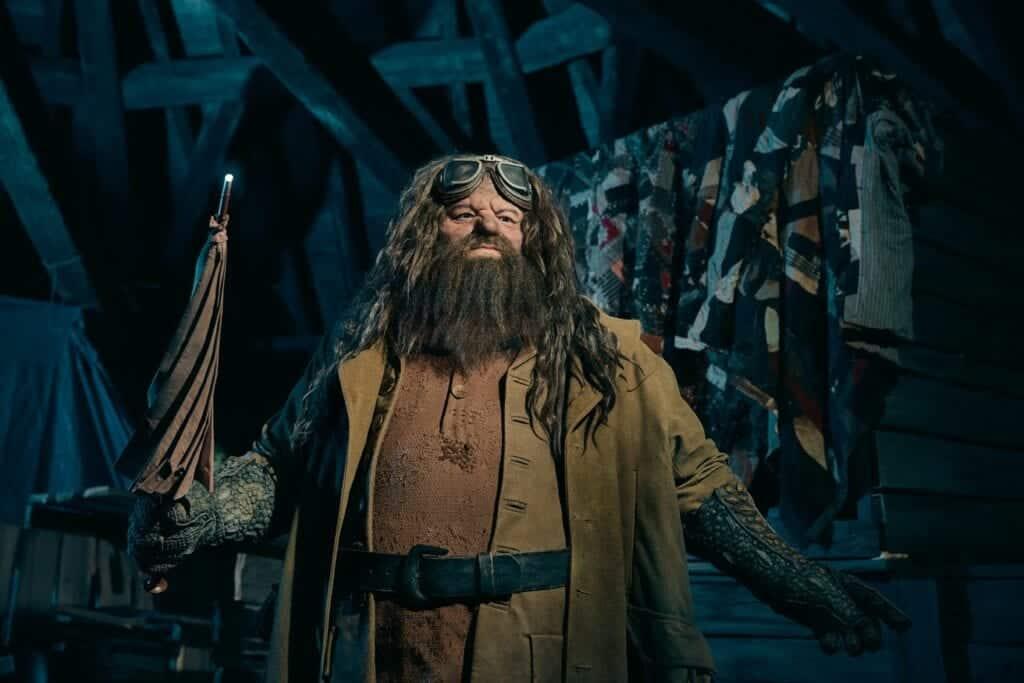 Animatronic Hagrid Universal Orlando