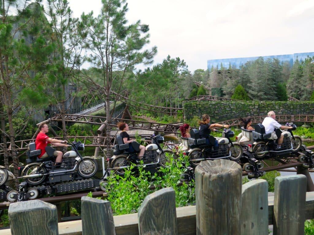 Hagrid's Magical Creatures Motorbike Adventure, Orlando FL