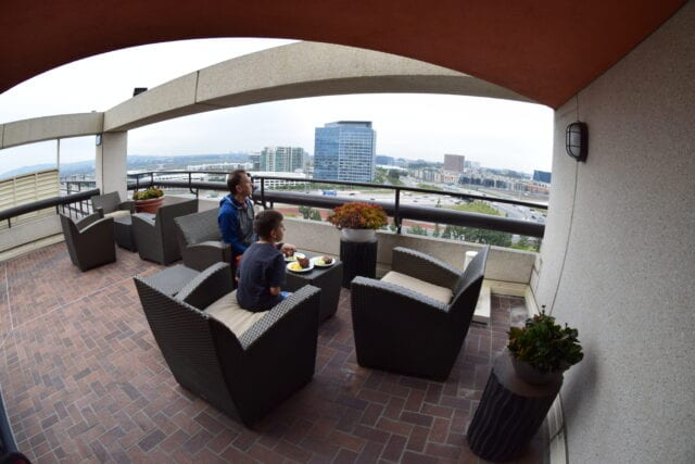 Hotel Irvine Club 12 balcony - Fun things To Do In Irvine With Kids
