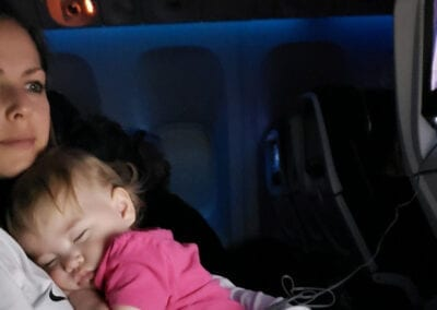 How To Survive Your First Flight with a Baby