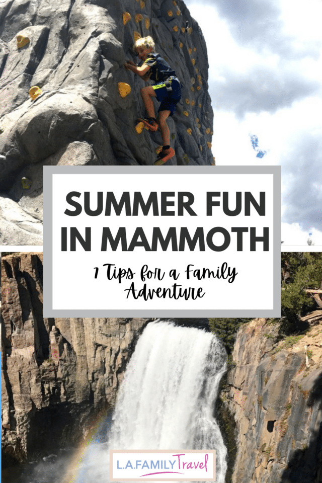 MAMMOTH Lake with kids is full of opportunity for fun and adventure! Check out these 7 tips that will make your family trip so much fun!