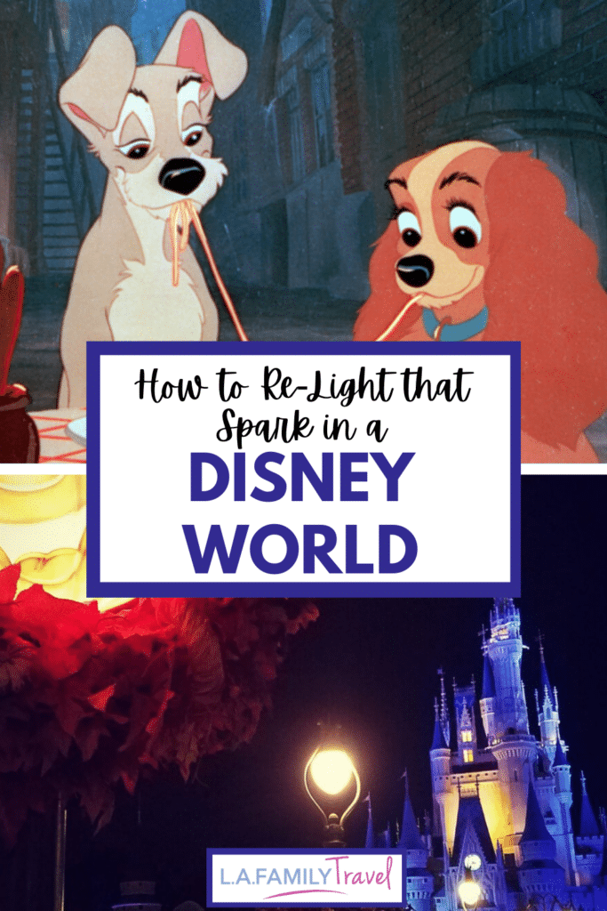 Need some adult time at Disney? Here are some great ways to have a romantic date at Disneyland or Disney World. A romantic trip to Disneyland or Disney World is sometimes what the heart needs.