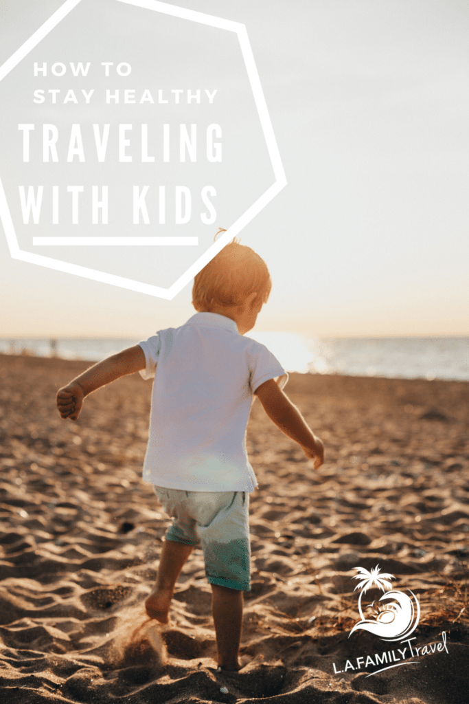 As the world opens up again to travel, use these tips to keep your kids and family healthy while you travel.